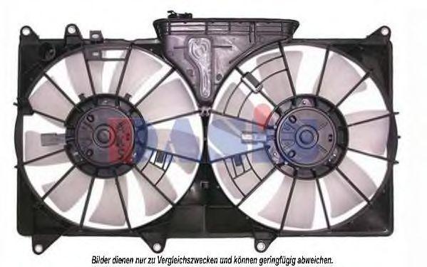 Вентилятор, охлаждение двигателя AKS DASIS 218043N