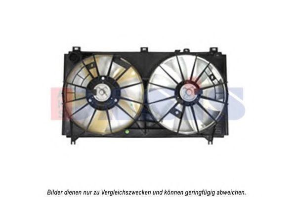 Вентилятор, охлаждение двигателя AKS DASIS 218045N