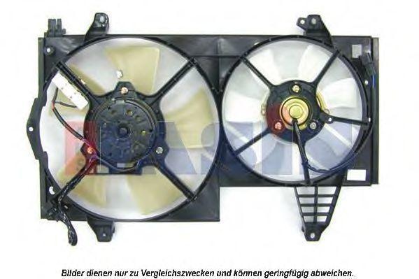 Вентилятор, охлаждение двигателя AKS DASIS 228031N