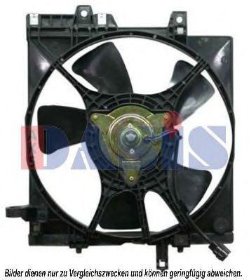 Вентилятор, охлаждение двигателя AKS DASIS 358005N