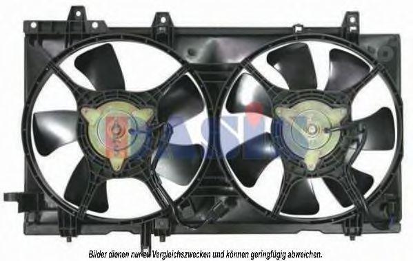 Вентилятор, охлаждение двигателя AKS DASIS 358008N