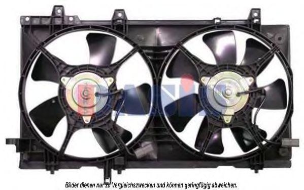 Вентилятор, охлаждение двигателя AKS DASIS 358016N