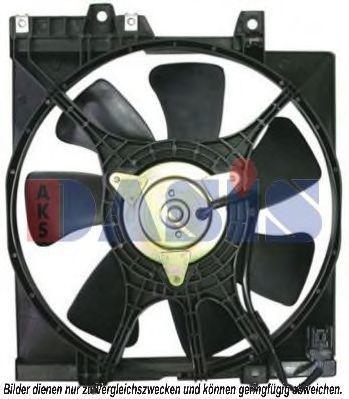 Вентилятор, охлаждение двигателя AKS DASIS 358024N