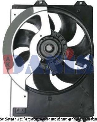 Вентилятор, охлаждение двигателя AKS DASIS 378020N