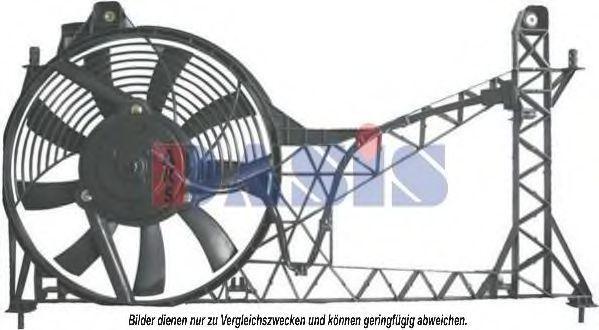 Вентилятор, конденсатор кондиционера AKS DASIS 378025N