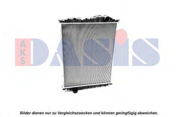 Радиатор, охлаждение двигателя AKS DASIS 460000S