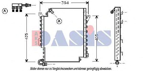 Конденсатор, кондиционер AKS DASIS 482010N