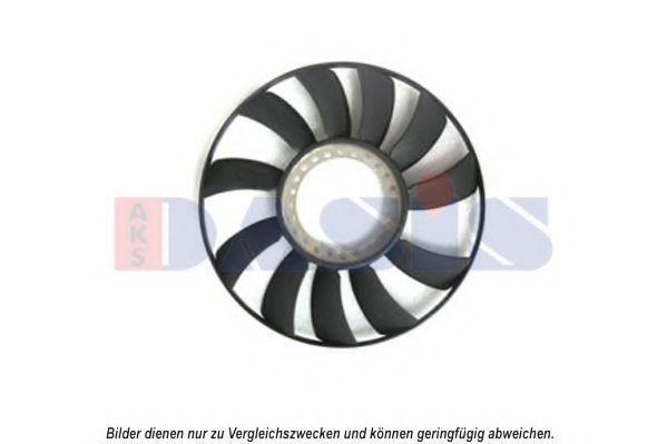 Крыльчатка вентилятора, охлаждение двигателя AKS DASIS 488000N