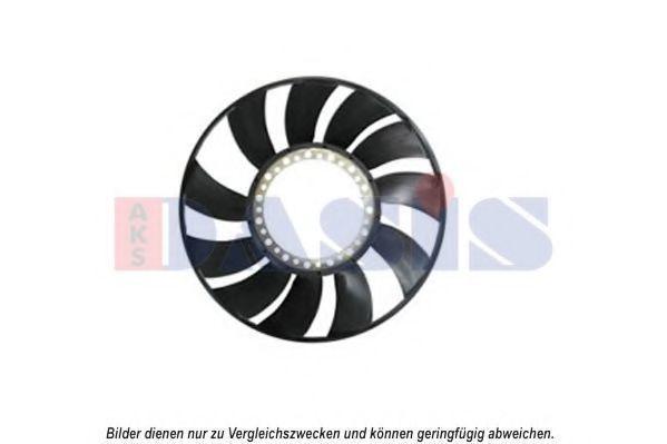 Крыльчатка вентилятора, охлаждение двигателя AKS DASIS 488011N