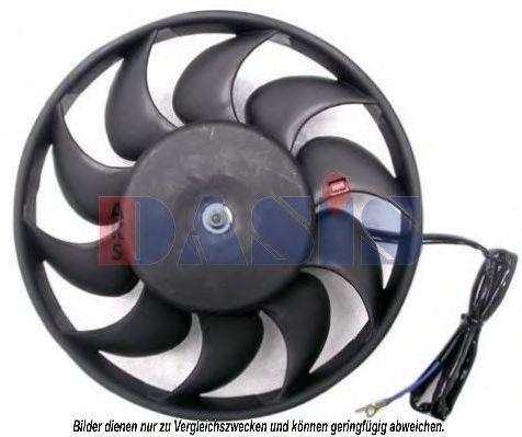 Вентилятор, охлаждение двигателя AKS DASIS 488017N