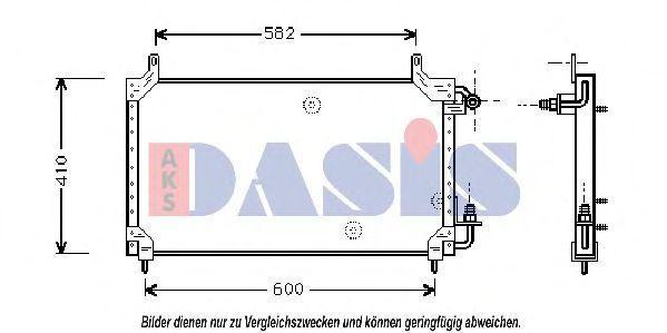 Конденсатор, кондиционер AKS DASIS 512010N
