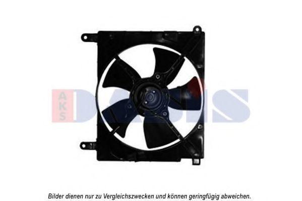 Вентилятор, охлаждение двигателя AKS DASIS 518004N