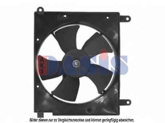 Вентилятор, охлаждение двигателя AKS DASIS 518006N