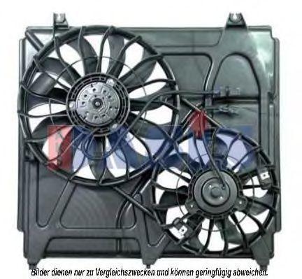 Вентилятор, охлаждение двигателя AKS DASIS 518009N