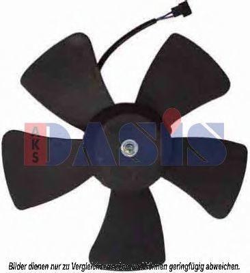 Вентилятор, охлаждение двигателя AKS DASIS 518017N