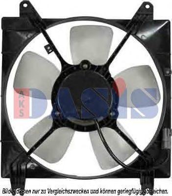 Вентилятор, охлаждение двигателя AKS DASIS 518021N