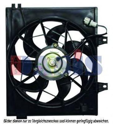 Вентилятор, охлаждение двигателя AKS DASIS 518039N