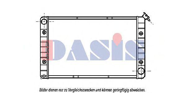 Радиатор, охлаждение двигателя AKS DASIS 520180N