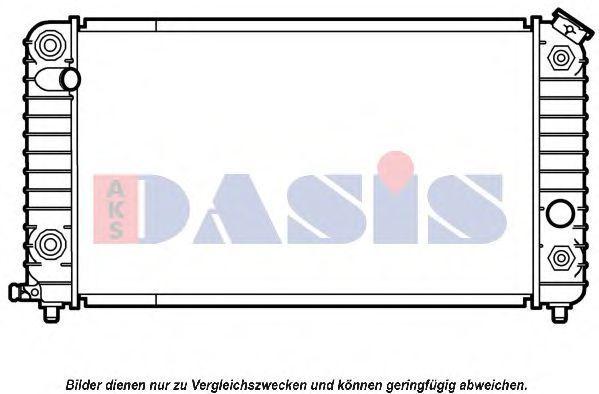 Радиатор, охлаждение двигателя AKS DASIS 520340N