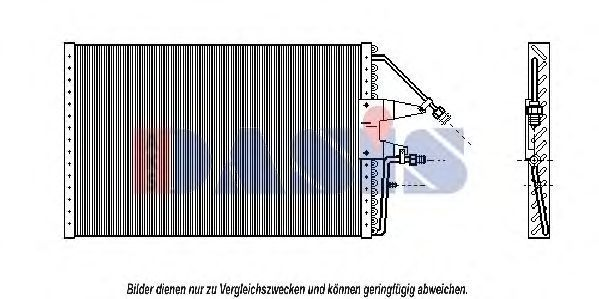 Конденсатор, кондиционер AKS DASIS 522042N