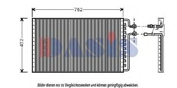 Конденсатор, кондиционер AKS DASIS 522260N