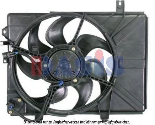 Вентилятор, охлаждение двигателя AKS DASIS 568017N