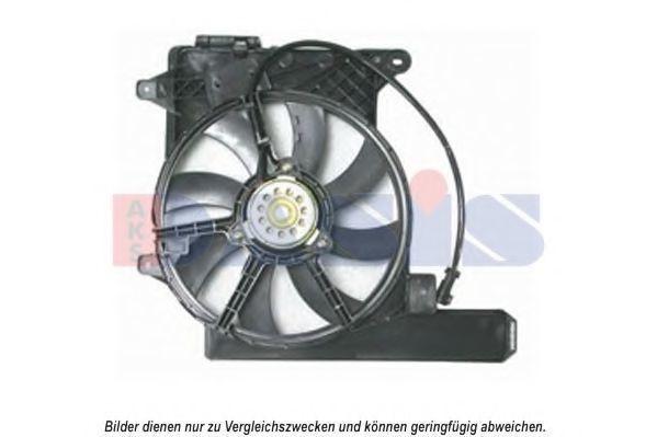 Вентилятор, охлаждение двигателя AKS DASIS 158095N