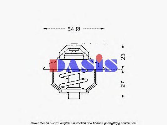 Термостат, охлаждающая жидкость AKS DASIS 750075N