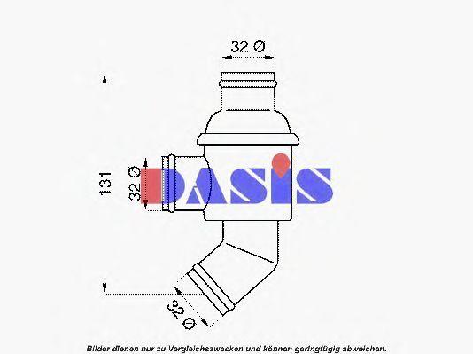 Термостат, охлаждающая жидкость AKS DASIS 750394N