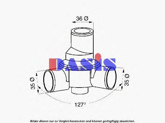 Термостат, охлаждающая жидкость AKS DASIS 750403N