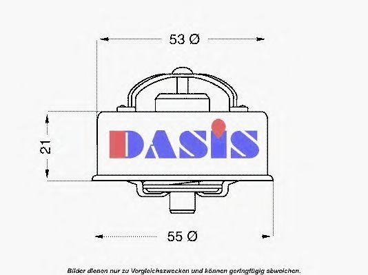 Термостат, охлаждающая жидкость AKS DASIS 750416N