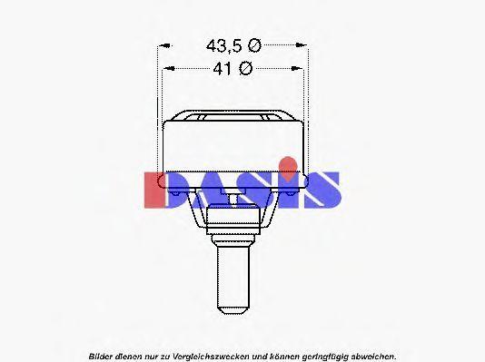 Термостат, охлаждающая жидкость AKS DASIS 750419N