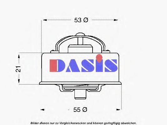 Термостат, охлаждающая жидкость AKS DASIS 750924N