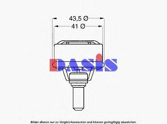 Термостат, охлаждающая жидкость AKS DASIS 751781N