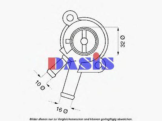 Термостат, охлаждающая жидкость AKS DASIS 751842N