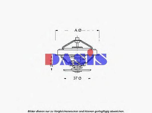 Термостат, охлаждающая жидкость AKS DASIS 751859N