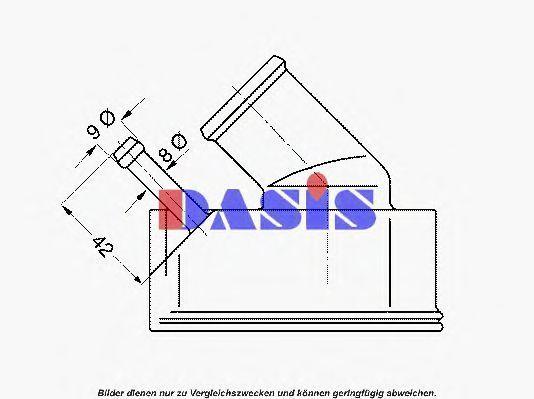 Термостат, охлаждающая жидкость AKS DASIS 751910N