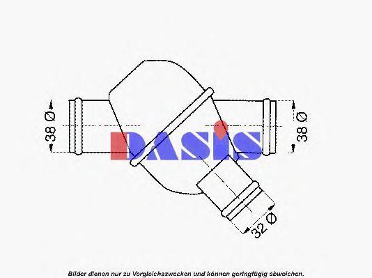 Термостат, охлаждающая жидкость AKS DASIS 751959N