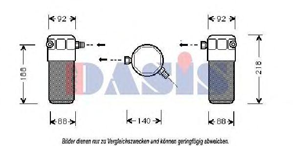 Осушитель, кондиционер AKS DASIS 801410N