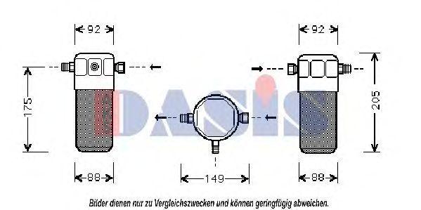 Осушитель, кондиционер AKS DASIS 802140N