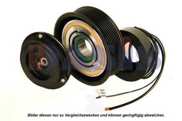 Электромагнитное сцепление, компрессор AKS DASIS 852191N