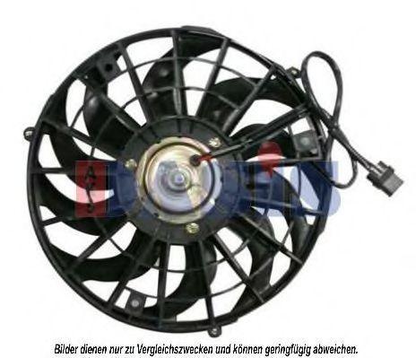 Вентилятор, охлаждение двигателя AKS DASIS 870052N
