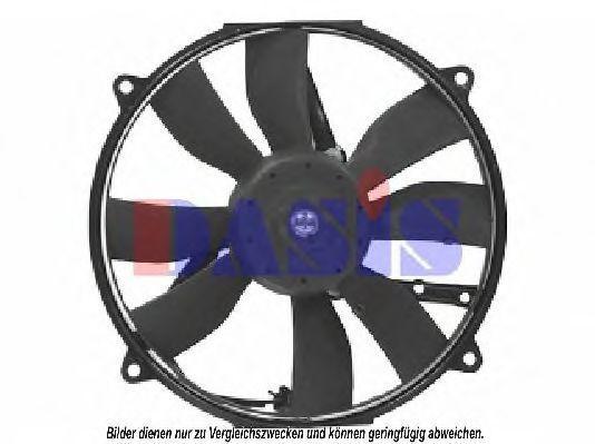 Вентилятор, охлаждение двигателя AKS DASIS 870590N