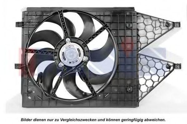 Вентилятор, охлаждение двигателя AKS DASIS 048117N