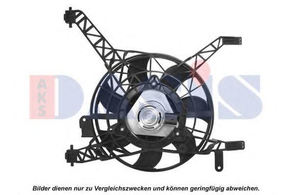 Вентилятор, охлаждение двигателя AKS DASIS 098137N