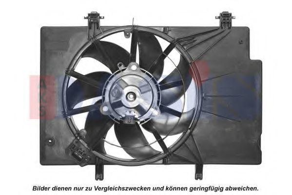 Вентилятор, охлаждение двигателя AKS DASIS 098136N