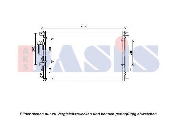 Конденсатор, кондиционер AKS DASIS 512088N