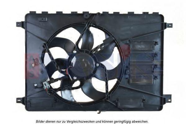 Вентилятор, охлаждение двигателя AKS DASIS 098134N