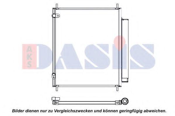 Конденсатор, кондиционер AKS DASIS 142034N