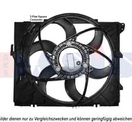Вентилятор, охлаждение двигателя AKS DASIS 058066N